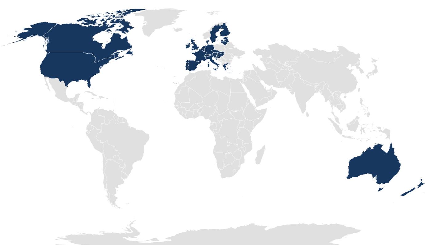 Deck Commerce Active Global Footprint 7-1-21